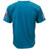Voetbalshirt 'Amsterdam uit groen en oranje bedrukken' achterkant