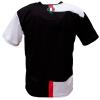 Voetbalshirt 'Turijn zwart en wit' bedrukken achterkant