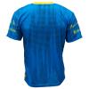Voetbalshirt 'Rotterdam uit blauw en geel' bedrukken achterkant