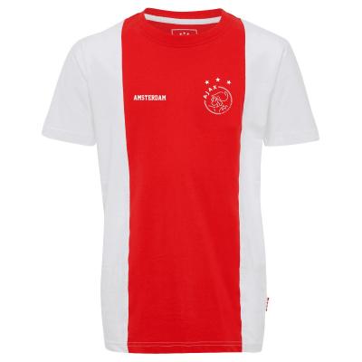 T-shirt Ajax 'wit en rood AFC Amsterdam' bedrukken