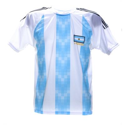 Argentinië thuis fan voetbalshirt bedrukken