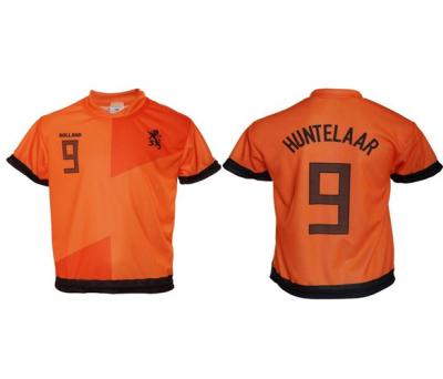 Nederland thuis fan voetbalshirt Huntelaar