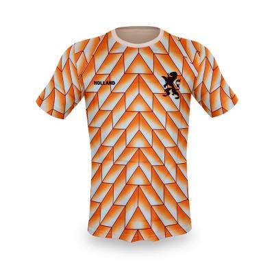 Nederland fan voetbalshirt EK 1988 bedrukken