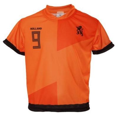 Nederland thuis fan voetbalshirt v. Persie