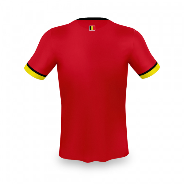 België thuis fan voetbalshirt bedrukken '20