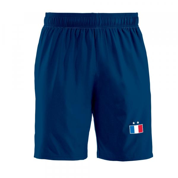Frankrijk thuis fan voetbalshort '20