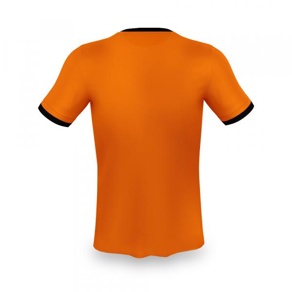 Nederland voetbalshirt bedrukken '20 achterkant