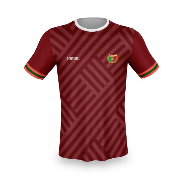 Portugal thuis fan voetbalshirt bedrukken '20
