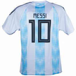 Argentinië thuis fan voetbalshirt Messi