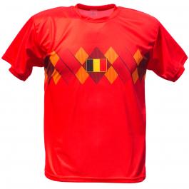 België thuis fan voetbalshirt bedrukken