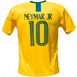 Brazilië thuis fan voetbalshirt Neymar