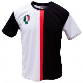 Voetbalshirt 'Turijn zwart en wit' bedrukken
