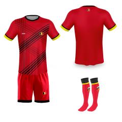 België thuis fan voetbaltenue bedrukken '20