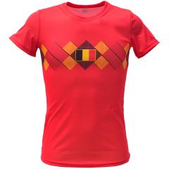 Voetbalshirt dames 'België thuis'