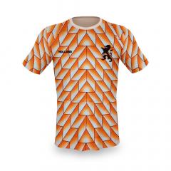 Nederlands elftal voetbalshirt blanco EK 1988
