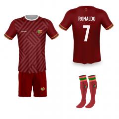 Portugal thuis fan voetbaltenue Ronaldo '20