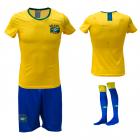 Voetbaltenue dames 'Brazilië thuis'