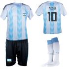 Argentinië thuis fan voetbaltenue Messi