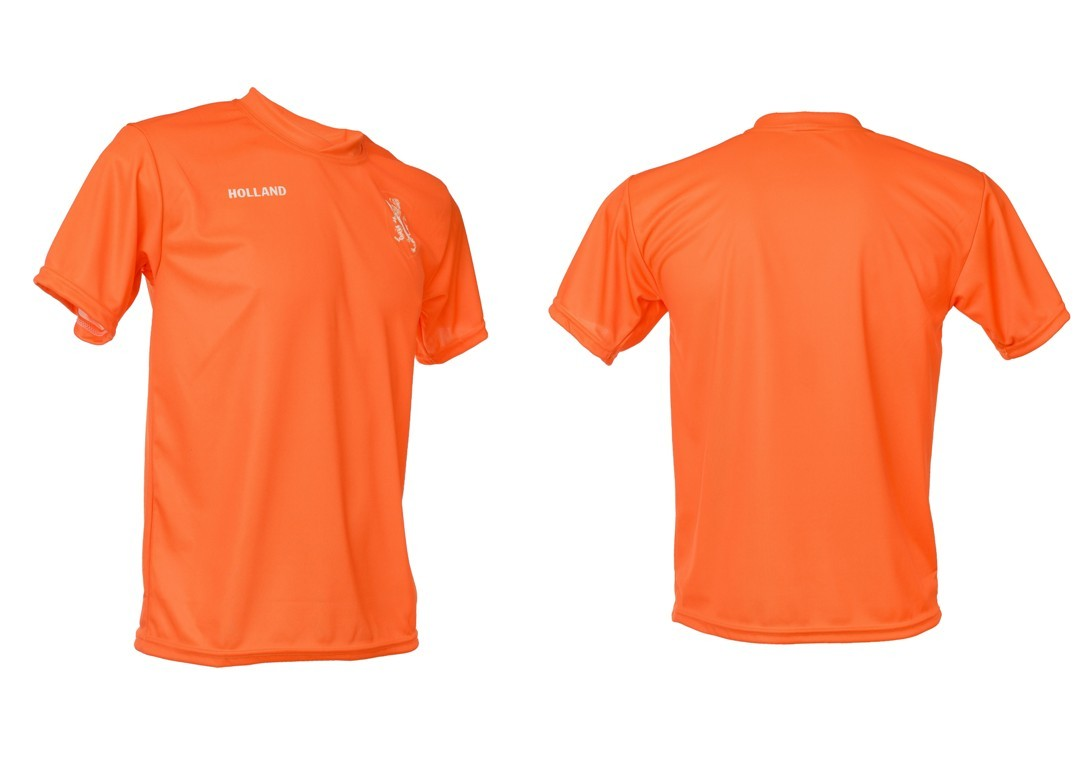 Holland voetbalshirt Blanco thuis 2014-2016