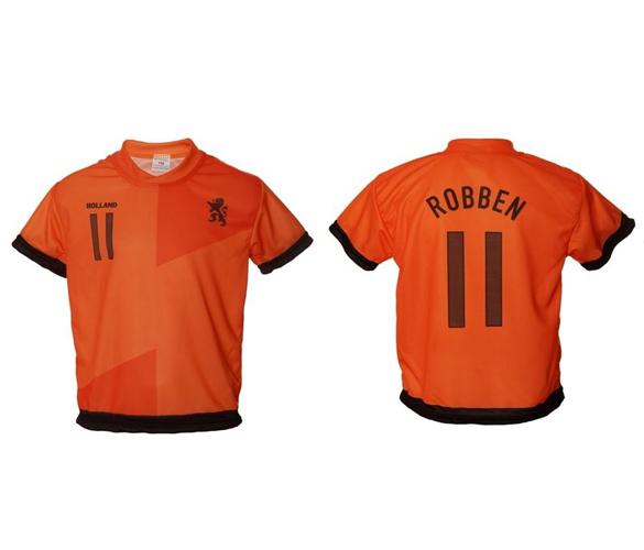 Holland voetbalshirt Robben thuis 2012-2014