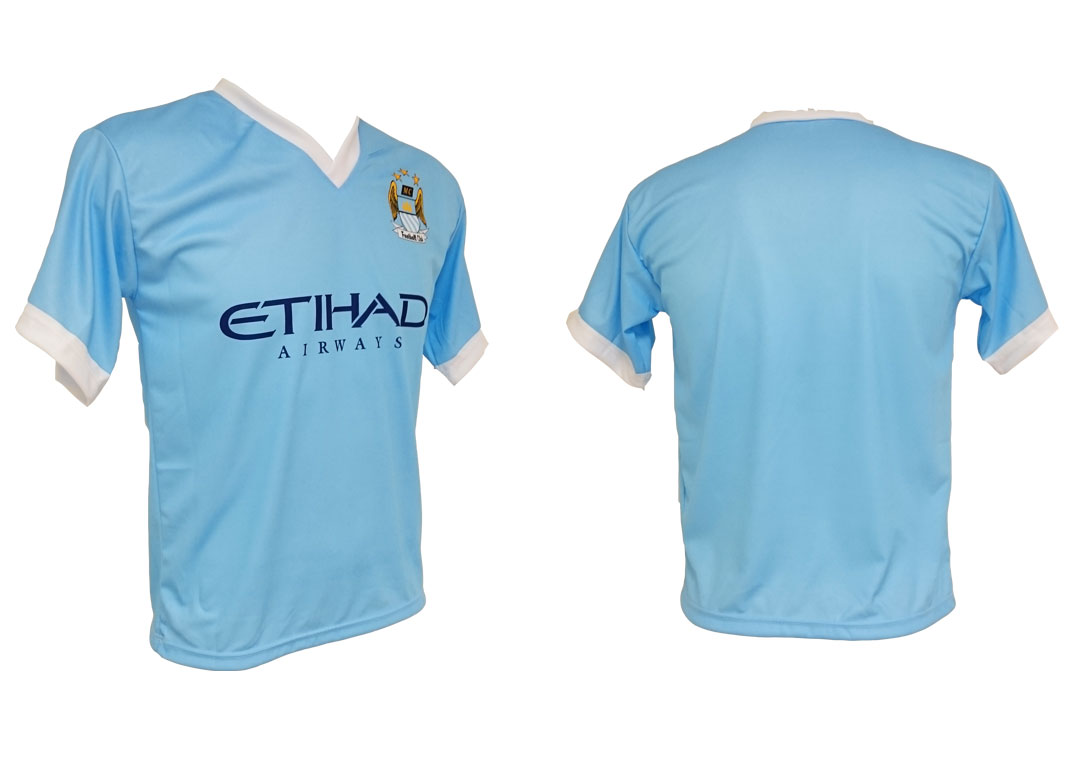 Manchester City voetbalshirt blanco thuis 15/16